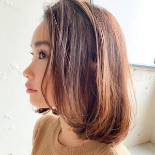 色気 ボブ 大人可愛い デジタルパーマ ヘアスタイルや髪型の写真・画像