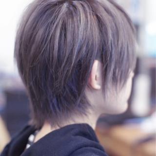 外国人風 小顔 ハイライト ストリート ヘアスタイルや髪型の写真・画像