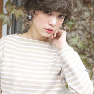 大人かわいい ショート 外国人風 外国人風カラー ヘアスタイルや髪型の写真・画像 ヘアスタイルや髪型の写真・画像