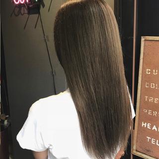 トリートメント 大人可愛い アディクシーカラー ロング ヘアスタイルや髪型の写真・画像