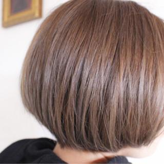 パープル グレージュ ナチュラル ピンク ヘアスタイルや髪型の写真・画像