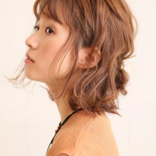 ゆるふわ くせ毛風 ナチュラル ショート ヘアスタイルや髪型の写真・画像 ヘアスタイルや髪型の写真・画像