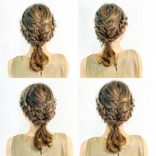 女子会 エレガント デート セミロング ヘアスタイルや髪型の写真・画像 ヘアスタイルや髪型の写真・画像