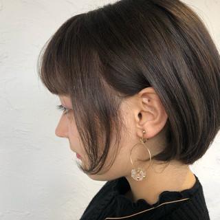 ツヤ髪 ショート ふんわり ナチュラル ヘアスタイルや髪型の写真・画像