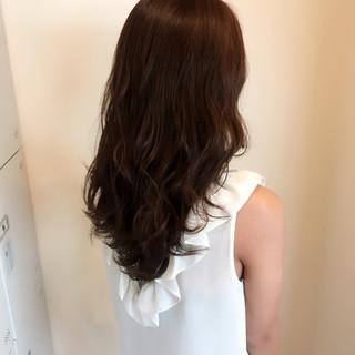 透明感 外国人風カラー セミロング モテ髪 ヘアスタイルや髪型の写真・画像