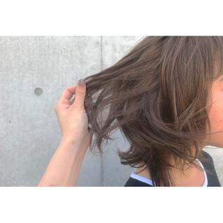 外国人風 外国人風カラー ボブ ナチュラル ヘアスタイルや髪型の写真・画像