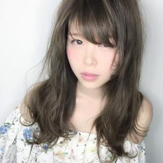 ゆるふわ 大人かわいい フェミニン ガーリー ヘアスタイルや髪型の写真・画像