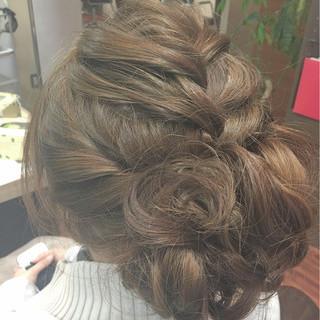 ヘアアレンジ 簡単ヘアアレンジ 謝恩会 ロング ヘアスタイルや髪型の写真・画像