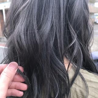 透明感 外国人風カラー アッシュ ゆるふわ ヘアスタイルや髪型の写真・画像