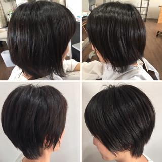 ショートボブ ウルフカット ベリーショート ショート ヘアスタイルや髪型の写真・画像