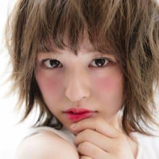 ヘアアレンジ 外ハネ ボブ おフェロ ヘアスタイルや髪型の写真・画像 ヘアスタイルや髪型の写真・画像