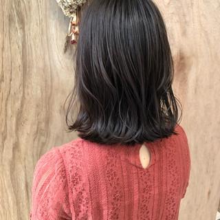 エフォートレス フェミニン 女子力 外ハネ ヘアスタイルや髪型の写真・画像