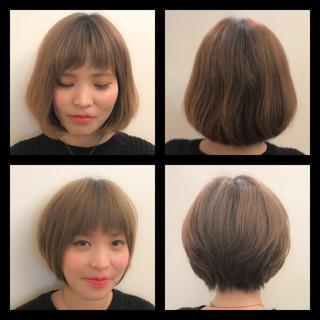 イルミナカラー 似合わせ ナチュラル リラックス ヘアスタイルや髪型の写真・画像