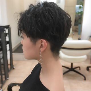 刈り上げ女子 ベリーショート ショートヘア ショート ヘアスタイルや髪型の写真・画像