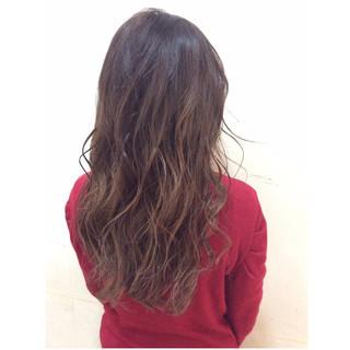 ロング フェミニン 外国人風 大人かわいい ヘアスタイルや髪型の写真・画像