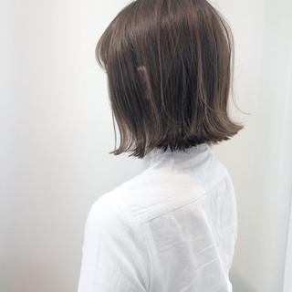 切りっぱなしボブ ヘアアレンジ ボブ ナチュラル ヘアスタイルや髪型の写真・画像 ヘアスタイルや髪型の写真・画像