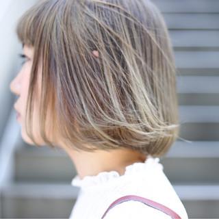 ボブ ガーリー デート ヘアアレンジ ヘアスタイルや髪型の写真・画像