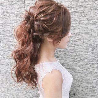 ゆるふわ ロング フェミニン 大人かわいい ヘアスタイルや髪型の写真・画像