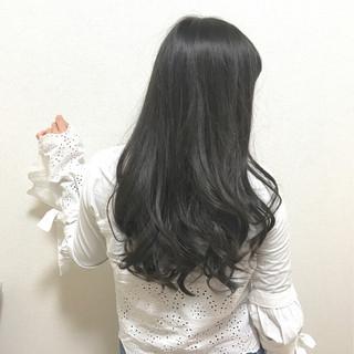 デート 黒髪 外国人風 大人かわいい ヘアスタイルや髪型の写真・画像