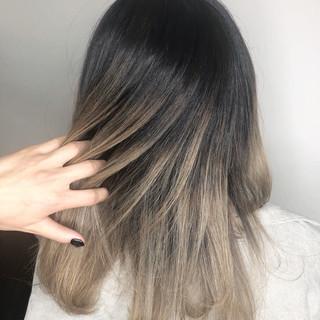 透明感 トレンド ヘアアレンジ 外国人風カラー ヘアスタイルや髪型の写真・画像