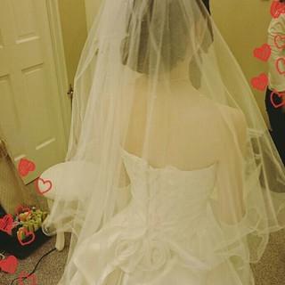 ヘアアレンジ 結婚式 二次会 ブライダル ヘアスタイルや髪型の写真・画像