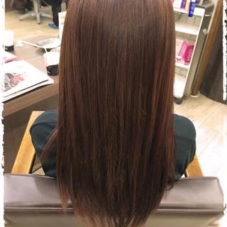 ストリート イルミナカラー 大人かわいい ロング ヘアスタイルや髪型の写真・画像
