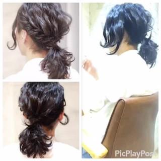 ショート フェミニン ゆるふわ パーティ ヘアスタイルや髪型の写真・画像