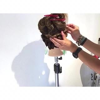 女子会 ヘアアレンジ デート 簡単ヘアアレンジ ヘアスタイルや髪型の写真・画像