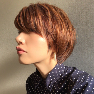 こなれ感 似合わせ ショート 愛され ヘアスタイルや髪型の写真・画像 ヘアスタイルや髪型の写真・画像