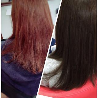 ロング 外国人風カラー ダブルカラー ブリーチ ヘアスタイルや髪型の写真・画像