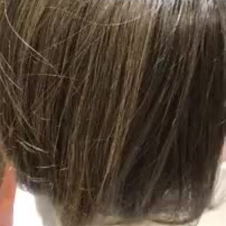 大人かわいい グラデーションカラー ボブ オフィス ヘアスタイルや髪型の写真・画像