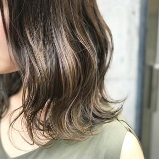 外国人風 グラデーションカラー ハイライト 外国人風カラー ヘアスタイルや髪型の写真・画像
