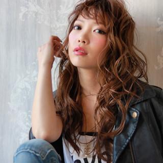 アッシュ ウェットヘア ストリート レイヤーカット ヘアスタイルや髪型の写真・画像