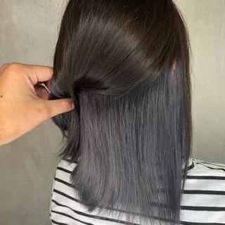ミディアム ストリート ヘアアレンジ 簡単ヘアアレンジ ヘアスタイルや髪型の写真・画像