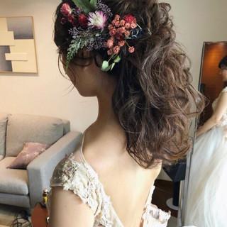 大人かわいい セミロング フェミニン おしゃれさんと繋がりたい ヘアスタイルや髪型の写真・画像