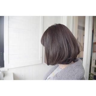 ショートボブ ナチュラル ロブ ボブ ヘアスタイルや髪型の写真・画像