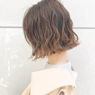 ナチュラル アンニュイほつれヘア ボブ 簡単ヘアアレンジ ヘアスタイルや髪型の写真・画像