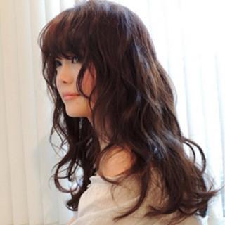 コンサバ モテ髪 ロング ゆるふわ ヘアスタイルや髪型の写真・画像