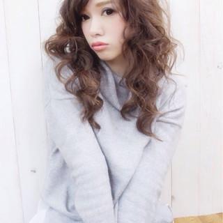モテ髪 ナチュラル パーマ 春 ヘアスタイルや髪型の写真・画像