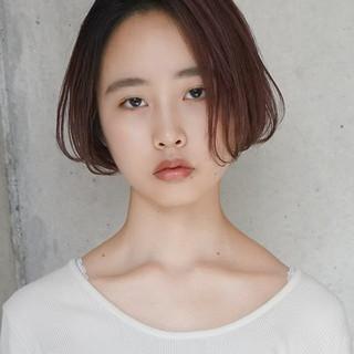 小顔 女子力 透明感 ナチュラル ヘアスタイルや髪型の写真・画像