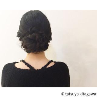 ゆるふわ 黒髪 和装 ヘアアレンジ ヘアスタイルや髪型の写真・画像