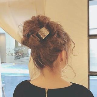 ヘアアレンジ エレガント 上品 ロング ヘアスタイルや髪型の写真・画像