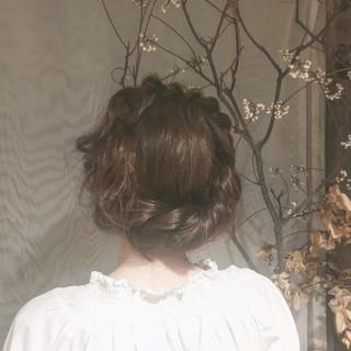 ロング ヘアアレンジ 結婚式 女子会 ヘアスタイルや髪型の写真・画像