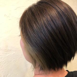 ストリート インナーカラー アディクシーカラー ブリーチカラー ヘアスタイルや髪型の写真・画像
