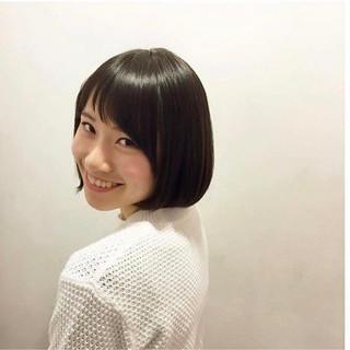 前田奈穂さんのヘアスナップ