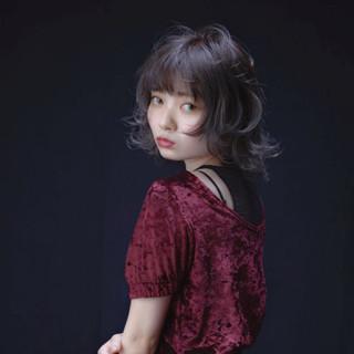 エレガント アッシュ デート 女子会 ヘアスタイルや髪型の写真・画像
