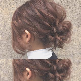 ハーフアップ 大人かわいい 外国人風 ヘアアレンジ ヘアスタイルや髪型の写真・画像