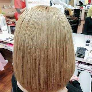 ボブ エレガント ヘアスタイルや髪型の写真・画像
