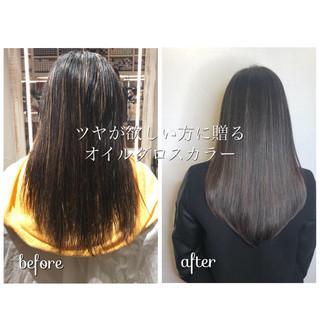 ハイライト アッシュ 外国人風カラー グラデーションカラー ヘアスタイルや髪型の写真・画像