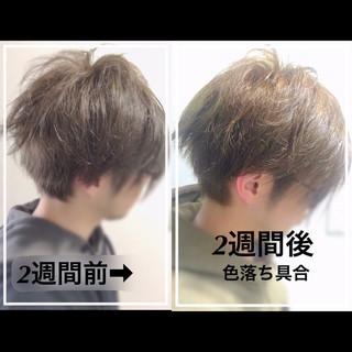 メンズショート ショート ナチュラル メンズヘア ヘアスタイルや髪型の写真・画像